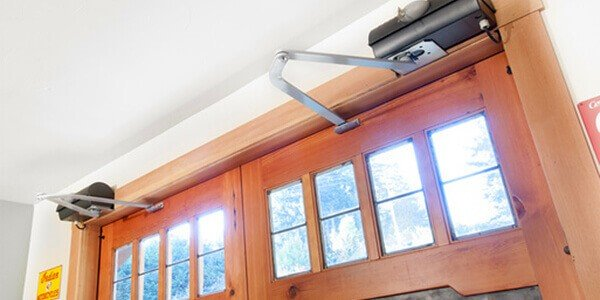 carriage style garage door opener Noble Garage Door & Gate Repair California