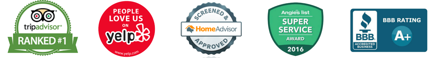 trip advisor yelp home advisor angies list bbb Noble Garage Door & Gate Repair California