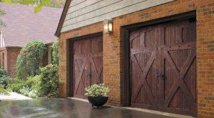 wood garage doors 300x166 Top 3 Materials for Your Garage Door